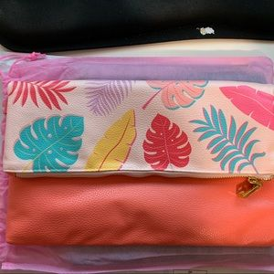 Studio DIY June 2019 Tropical Leaf Clutch